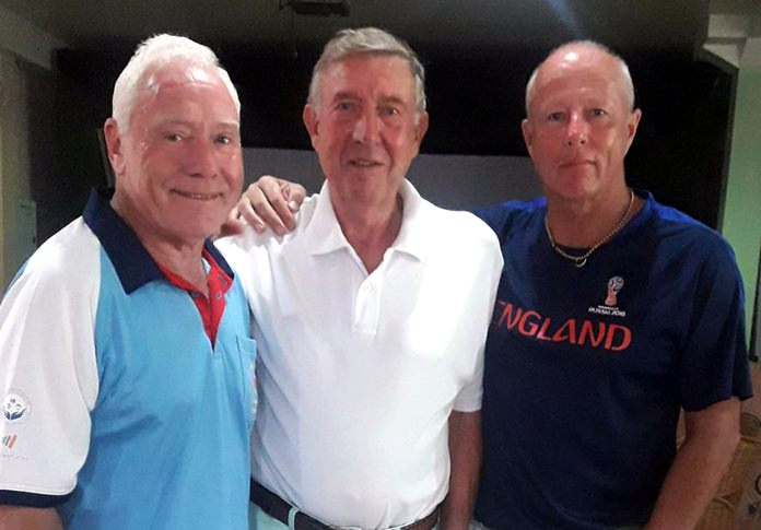 From left, Peter Terry, Eddy Beilby and Jez Lees.