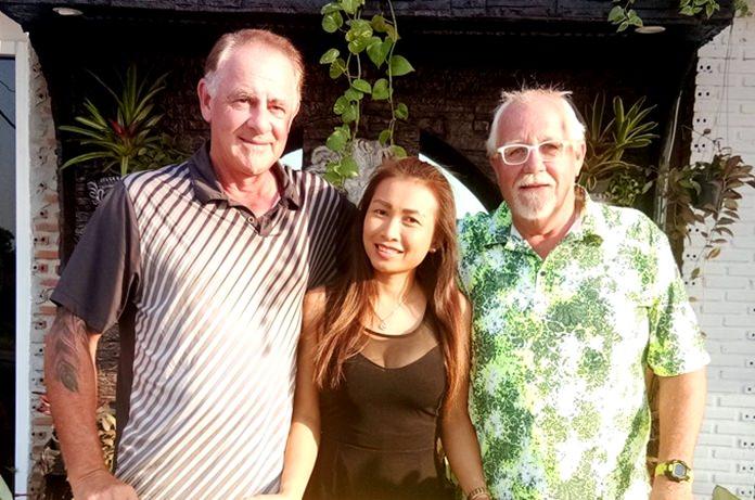 Sandy, Sasicha and Greig.