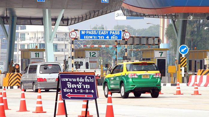 The end of Songkran marked the start of full operation for five new toll booths along Highway 7 with only minor problems reported after motorists became required to pay to use the motorway. While the new booths at Ban Bung, Bangpra, Nongkham, Pong, and Pattaya have been open since January, the motorway was still free to use on the Chonburi-Pattaya stretch. That ended on April 19.