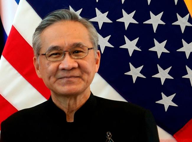 Thai Foreign Minister Don Pramudwinai. (AP Photo/Sakchai Lalit)