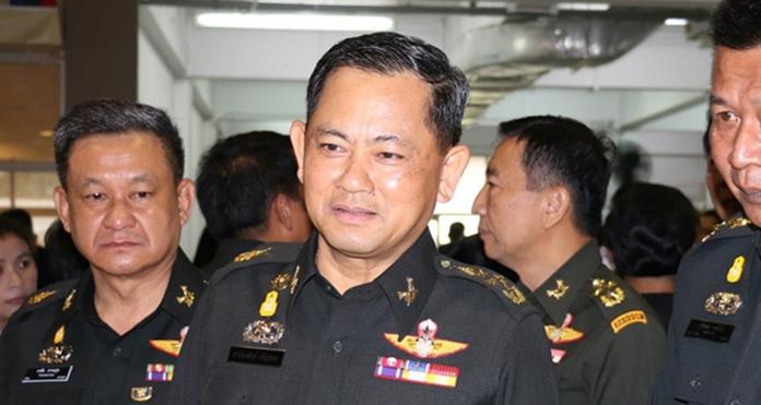 Gen. Tharnchaiyan Srisuwan.