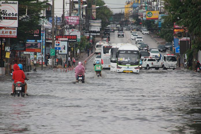 Songkran is over and the rainy season has returned. And the usual flooding problems have come back with it.