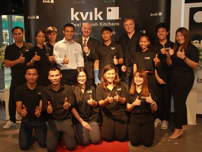 The pleasant and friendly staff of Kvik is ready to serve you.