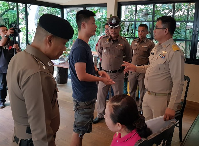 Authorities continued their inspection of hotels, guesthouses and smaller apartments in Pattaya.