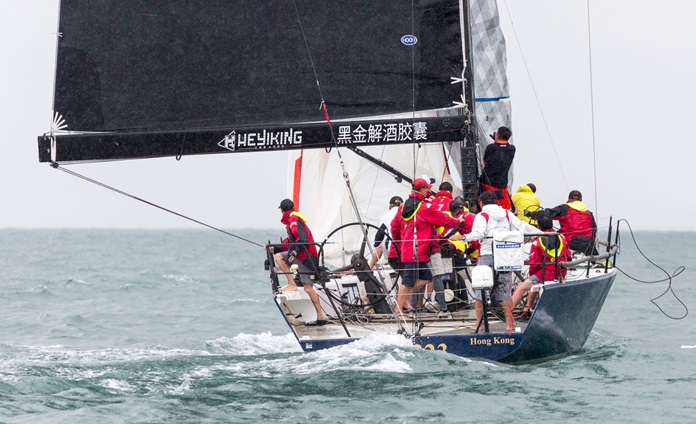 The all-Chinese team on Ark 323 performed well in the IRC1 race series.