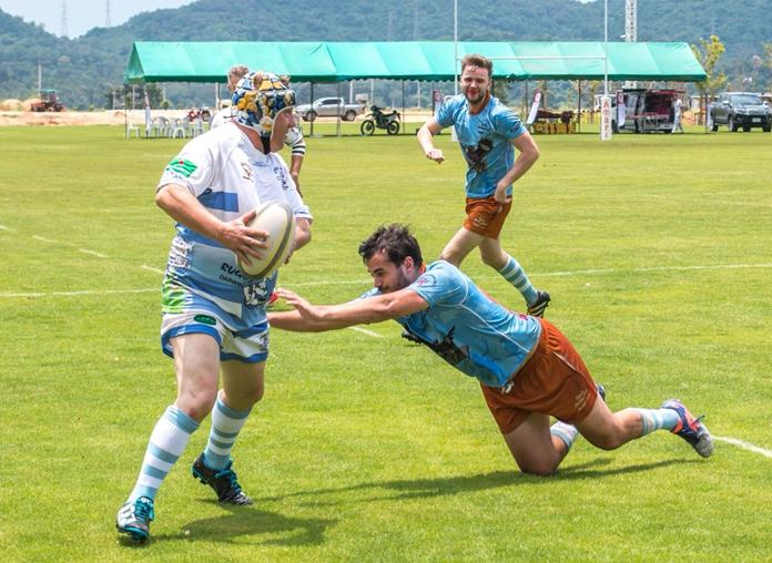 The Stray Cats try some expansive rugby against the Fledglings.