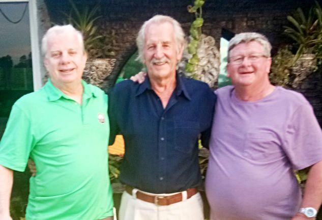 Selwyn Wegner, William Macey and Wayne Cotterell.