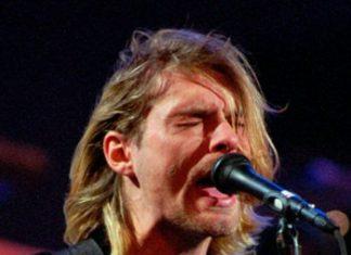 Kurt Cobain in 1993. (AP Photo/Robert Sorbo)