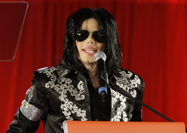 Michael Jackson is shown in this March 5, 2009 file photo. (AP Photo/Joel Ryan)