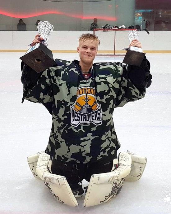 Samuel Pekkala was voted the tournament's MVP.