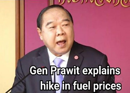 Gen Prawit Wongsuwan.