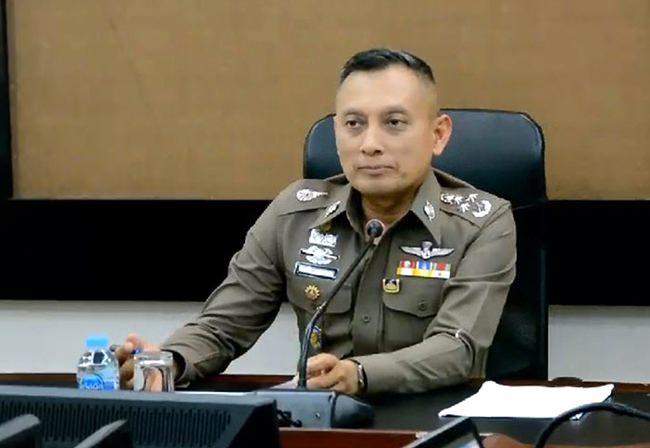 Pol Gen Weerachai Songmetta.