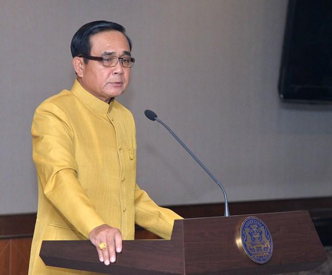 Prime Minister Gen. Prayut Chan-o-cha.