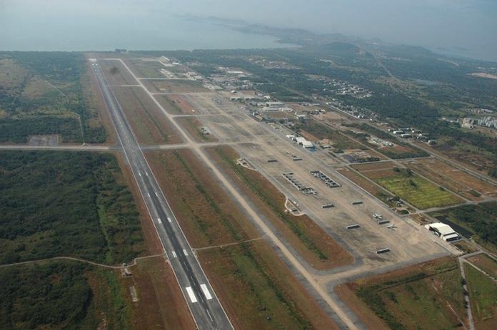 U-tapao airport.