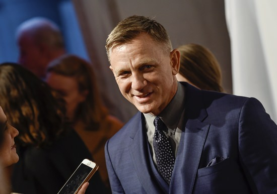 Actor Daniel Craig is shown in this April 9, 2018, file photo. (Photo by Evan Agostini/Invision/AP)