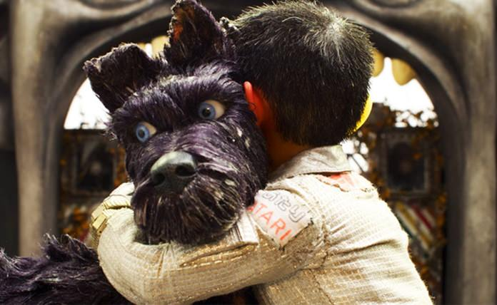 """This image released by Fox Searchlight Pictures shows the character Chief, voiced by Bryan Cranston in a scene from """"Isle of Dogs."""" (Fox Searchlight via AP)"""