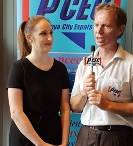 Member Ren Lexander interviews Jodie after her presentation to the PCEC. To view the video, visit: https://www.youtube.com/watch?v=UQLPtzY3 OEM&feature=youtu.be.