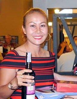 Ladies winner Jeeranan Duncan.