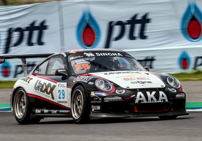 The TR-Motorsport's Porsche was handicapped by reliability issues all weekend.