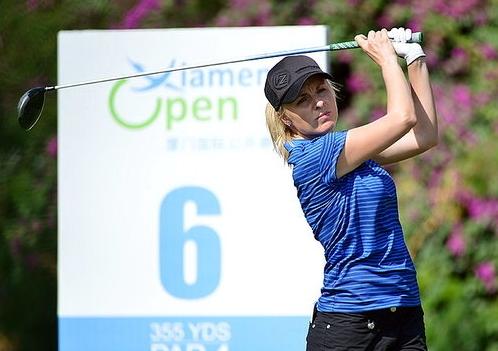 Australian golfer Sarah Kemp. (Photo courtesy Ladies European Tour)