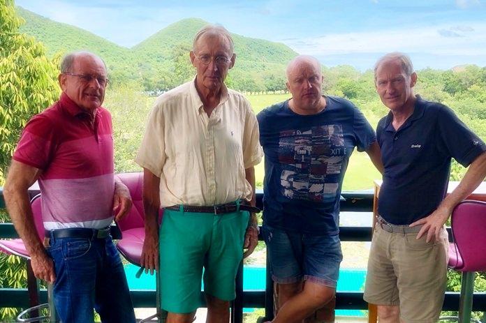 (From left) Patrick Devereux, Willem Lasonder, Dave Smith and Jonathan Pratt.