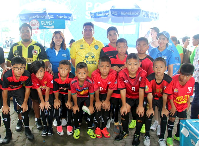 Young football stars came from far and wide to take part in the Palladium Cup Youth Football Tournament.