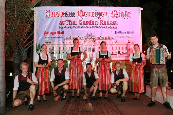 The Tiroler Silberplattler dance troupe wowed the crowd with their poise and beauty.