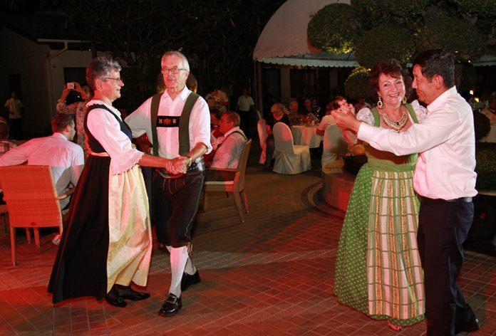 An Austrian couple joins Mayor Anan and Elfi on the dance floor.