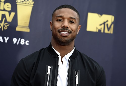 Actor Michael B. Jordan is shown in this June 16, 2018 file photo. (Photo by Jordan Strauss/Invision/AP)
