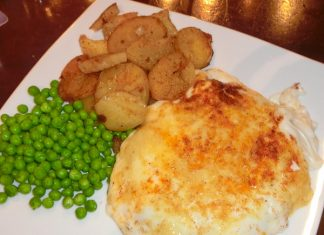 You need a big appetite for a Jameson's Parmo.