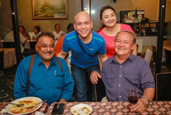 Life-long friend Peter Malhotra brought joyful wishes for the Dibbayawan family.