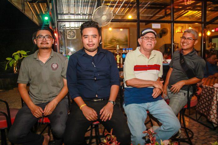 Band of brothers, (l-r) Chanodom Manawangpipat, Jedtharin Ninlapha, Steve Dibbayawan and Chanints Valtanavit.