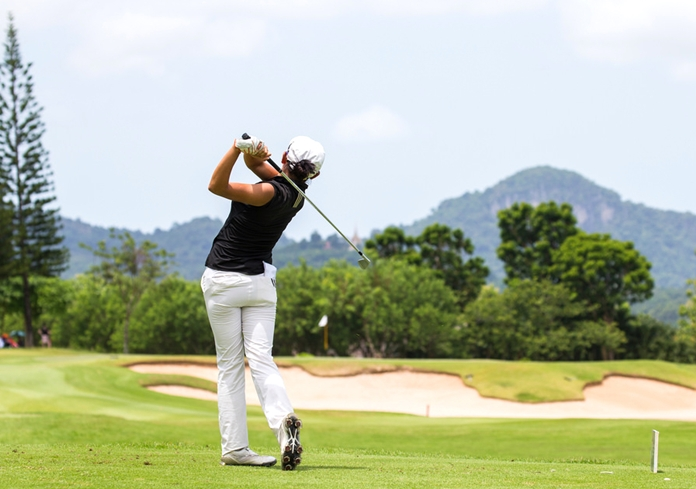 Korean amateur Selin Hyun shot a final round 65 to take second place in the tournament.