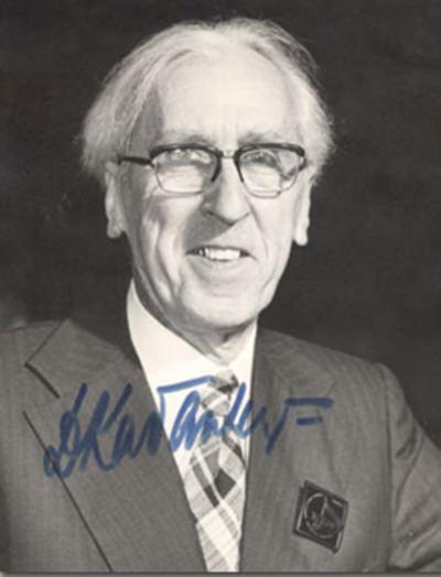 Kabalevsky in Perth, 1974.