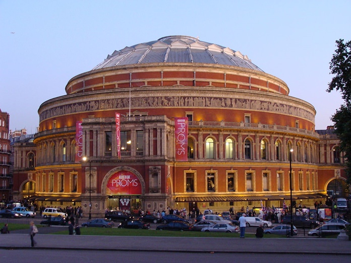 The Royal Albert Hall at the 2008 Proms.