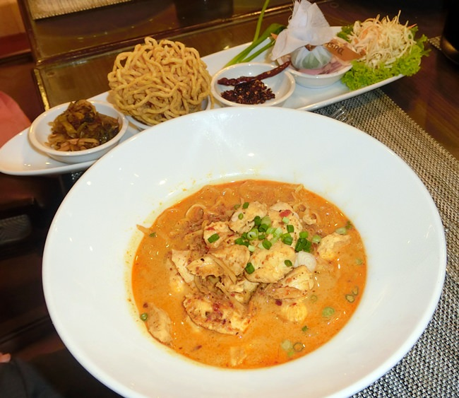 The Khao Soy Burmese curry.