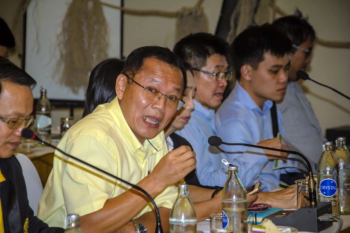 Sewage Management Department Director Sompope Wandee said a budget will be requested for a sewage system overhaul that should prevent spills like those this year on both Pattaya and Najomtien beaches.