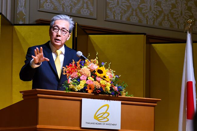 Deputy Prime Minister Somkid Jatusripitak has been encouraging Japanese investors to up their investments in the Eastern Economic Corridor project.