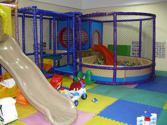 A safe kids playground.