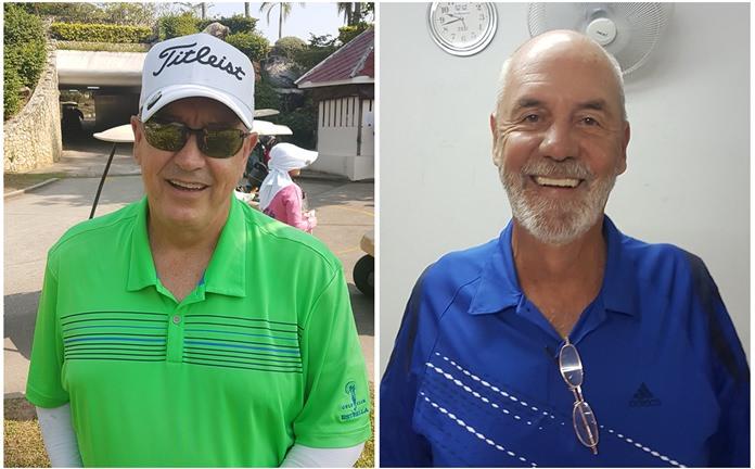 Arnold Jones (left) John Baxter.