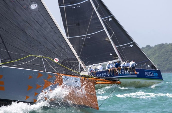 Strong winds and close racing were prominent at this year's Raceweek.