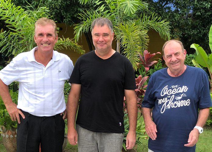 Neil Harvey, Stephen Ford & Phill Waite.