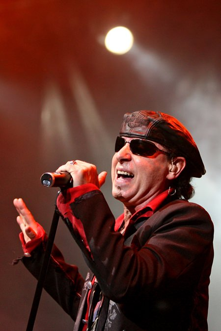 Klaus Miene of The Scorpions.