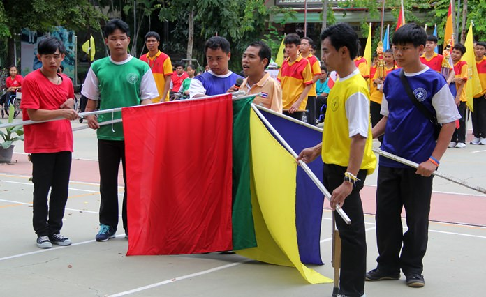 The Opening Ceremony.