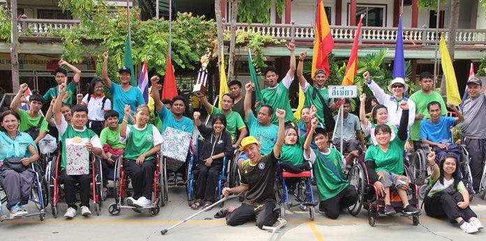 Green Team - the winners.