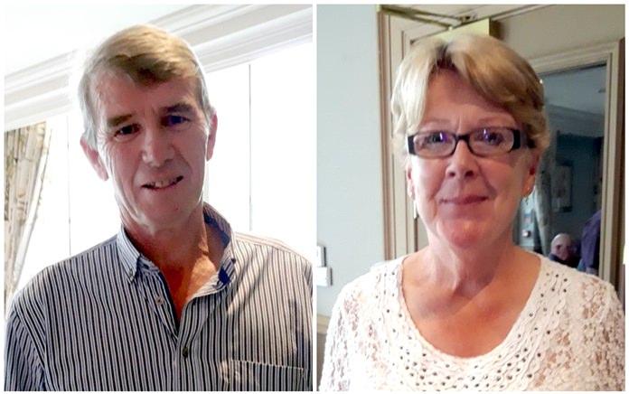 Anthony Dillon (left) & Evelyn McNamara.