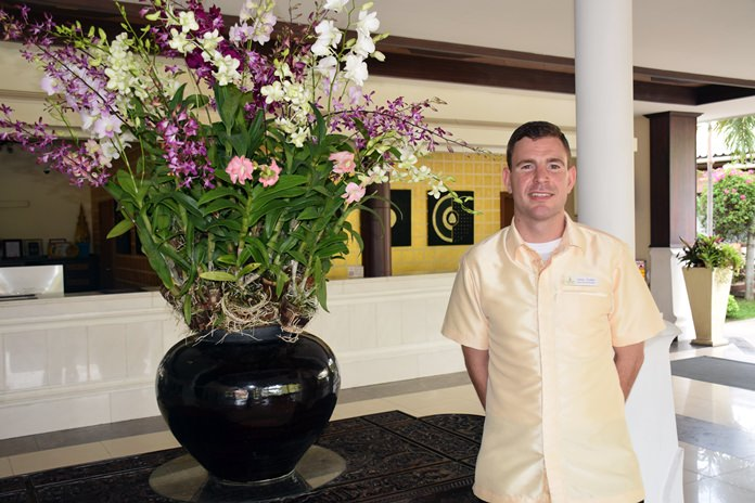 Leroy Coster, new Guest Service Manager of Thai Garden Resort.