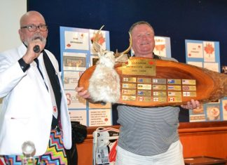 The winner of the 20th Annual Canadian Jackalope Open Charity was Paul O'Mahony who shot 44 points off of his 24 handicap.
