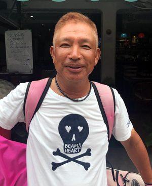 Kazu Mochidome.