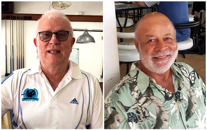 John Goodwin (left) & Don Hawkins.